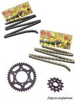 Chain D.I.D. 525 VX PRO-STREET X-Ring [128 chain link] and SUNSTAR sprocket for BMW S 1000 XR [15-17]