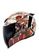 Full face helmet Icon Airflite Pleasuredome3 - Brown