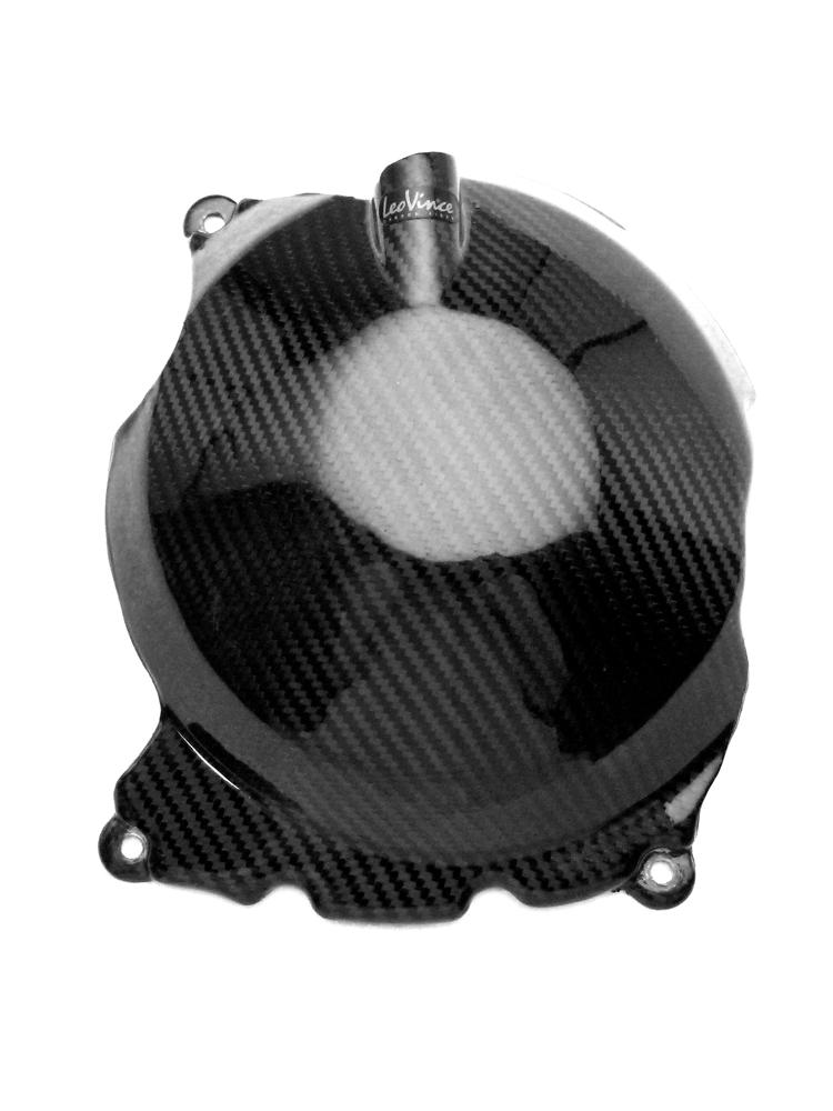 Clutch Cover Carbon Fiber Leovince For Triumph Speed Triple 1050