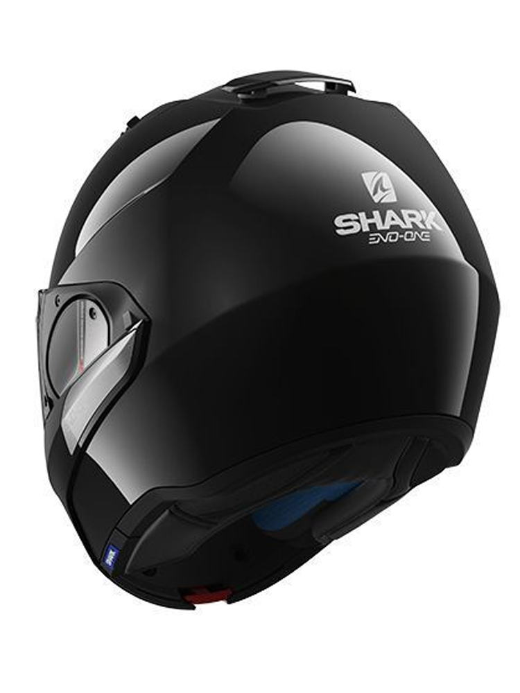 flip up helmet shark evo one blank moto online store. Black Bedroom Furniture Sets. Home Design Ideas