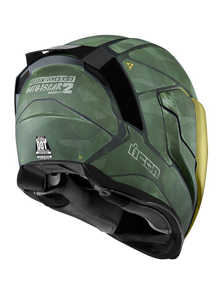 Full Face Makeup Tutorial Video: Full Face Helmet Icon AIRFLITE BATTLESCAR2™ Moto-Tour.com