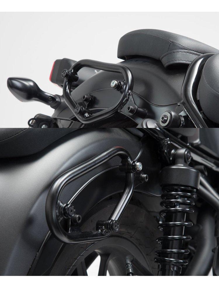 side carrier slc set sw motech honda cmx 500 rebel 17 right left side moto. Black Bedroom Furniture Sets. Home Design Ideas