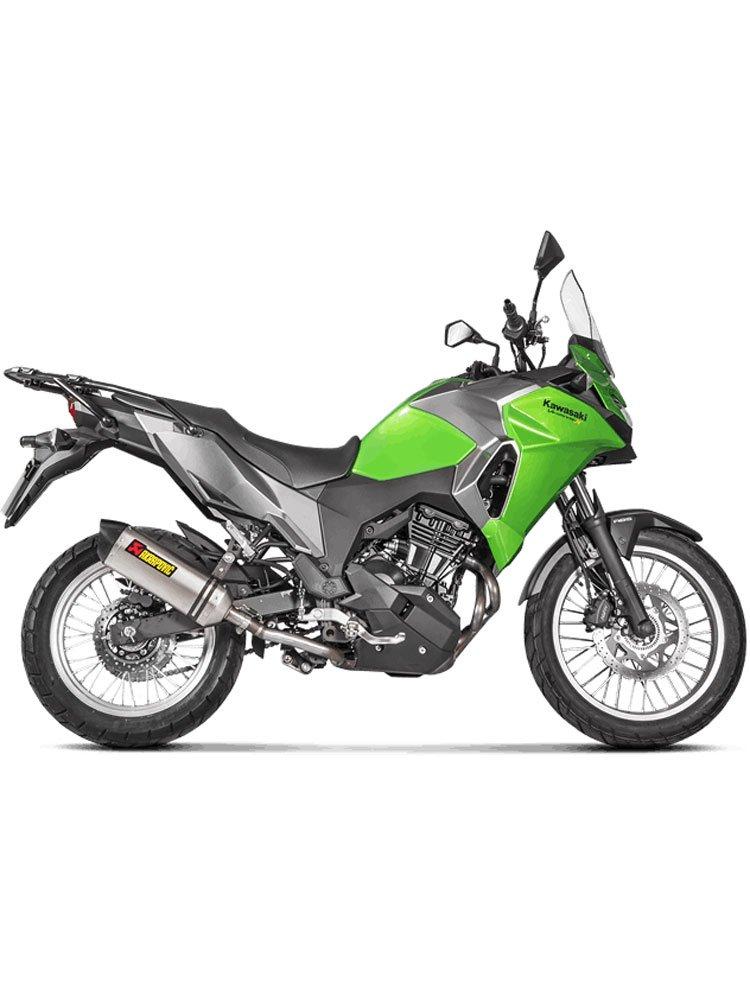 Silencer Slip-On Line (TITANIUM) Akrapović Kawasaki Versys-X 250/300