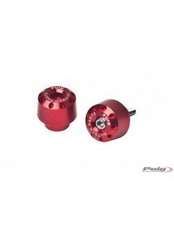 Bar ends shorts for Honda (red)