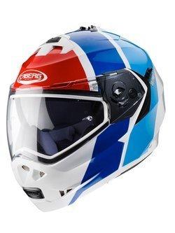 Flip up helmet CABERG DUKE II WHITE/RED/BLUE