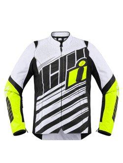 Icon Motorcycle Jacket Overlord SB2 Fluo Women