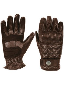 Leather Glove John Doe Tracker - XTM brown