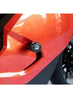 CRASH PADY AERO R&G FOR BMW K1300S [09-16] BLACK
