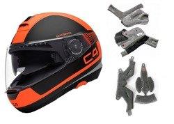 Flip-up helmet Schuberth C4 Legacy Orange SALE