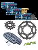 HONDA NX 650DOMINATOR [88] DID520 ZVMX SUPER STREET chain and SUNSTAR sprockets