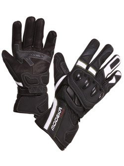 Leather gloves Men Modeka Challenge Long