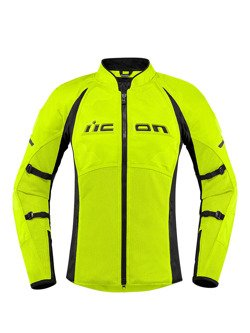 Motorcycle Jacket Icon Contra 2 Women Fluo