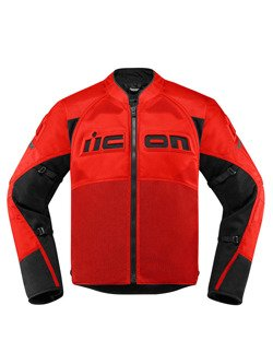 Motorcycle Jacket Icon Contra 2 red