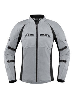 Motorcycle Jacket Icon Contra 2 women grey