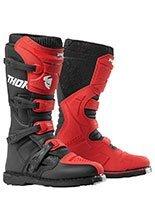 Buty off-road Thor Blitz XP czerwono-czarne