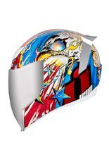 Kask integralny Icon Airflite Freedom Spitter - Glory