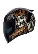 Kask integralny Icon Airflite Uncle Dave - Black