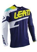 Koszula off-road Leatt GPX 4.5 Lite niebiesko-biała
