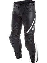Męskie motocyklowe spodnie skórzane Dainese ASSEN