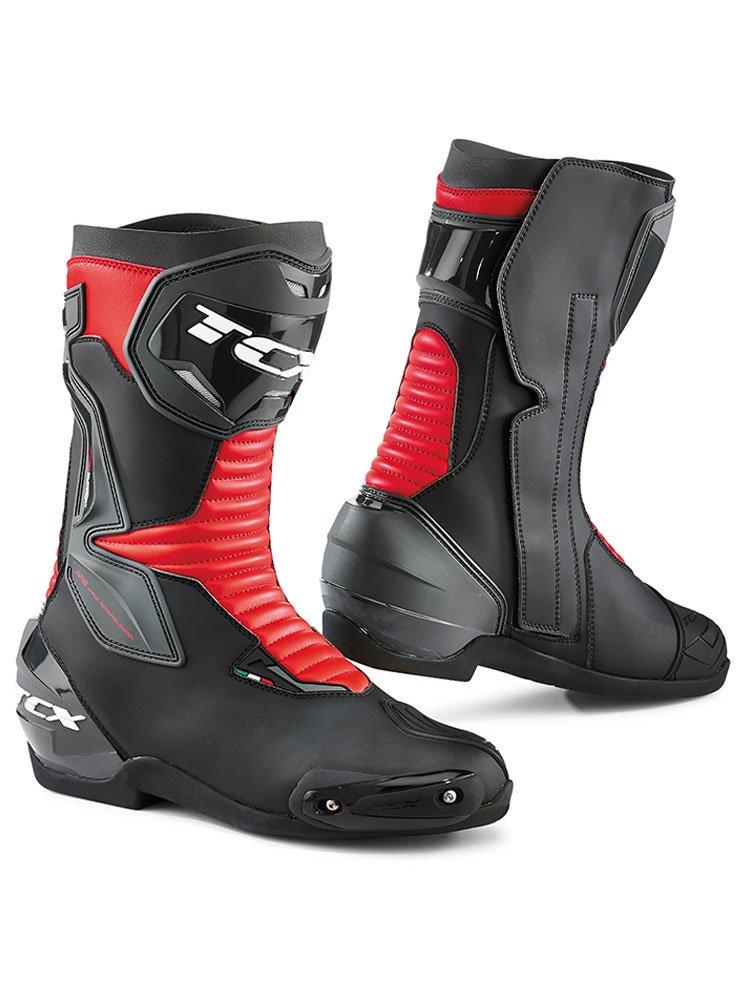 Buty Motocyklowe Szosowo Sportowe Tcx Sp Master Czarno Czerwone Sklep Moto Tour Com Pl