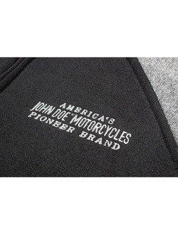 Bluza z kapturem John Doe czarno-szara