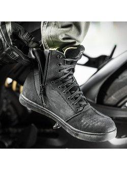 Buty motocyklowe Shima Rebel WP czarne