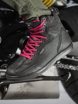 Buty motocyklowe damskie Shima Rebel WP Lady czarne