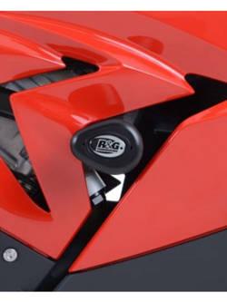 CRASH PADY AERO R&G DO BMW S10000RR [15-] CZARNY