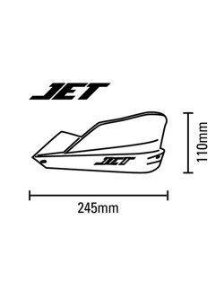 Handbary Barkbusters JET + zestaw montażowy do DUCATI Scrambler Desert Sled/Flat Track Pro/Full Throttle (15-18)
