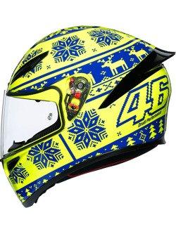 Kask integralny AGV K1 Winter Test 2015