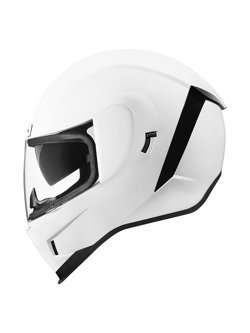Kask integralny Icon Airform Gloss White