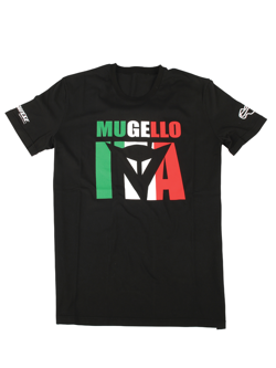Koszulka motocyklowa T-Shirt Dainese MUGELLO D1