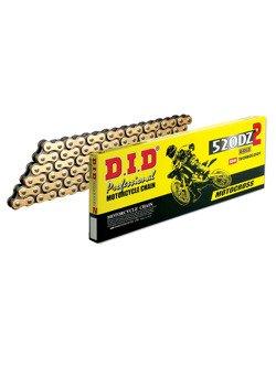 Łańcuch napędowy D.I.D.520 DZ2 wzmocniony bezoringowy [108 ogniw]