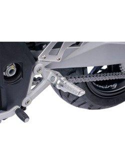 Podnóżki PUIG Racing (srebrne)