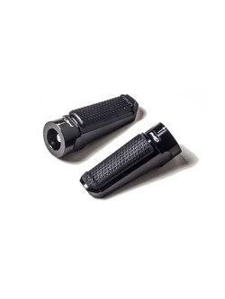 Podnóżki PUIG Sport z gumą (czarne)