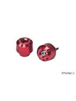 Końcówki kierownicy PUIG do Honda - krótkie (czerwone)
