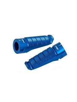 Podnóżki PUIG Racing (niebieskie)