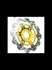 Tarcza Hamulcowa EBC VR817GLD VEE Rotor złota na przód. Średnica 320mm.