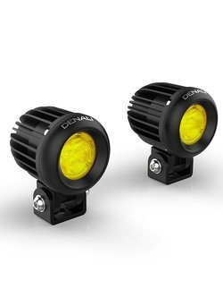 Zestaw lamp LED DENALI 2.0 D2 + soczewki zółte (2 sztuki)