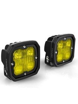 Zestaw lamp LED DENALI 2.0 D4 TriOptic z technologią DataDim + żółte soczewki